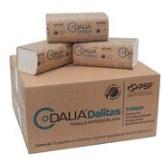 TOALLA INTERDOBLADA DE 100 HOJAS DALITAS