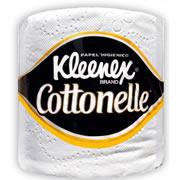 PAPEL HIGIENICO TRADICIONAL KLEENEX COTTONELLE 90429 DE 360 HOJAS DOBLES DE 10.8 X 9.5 CM COLCHON C/40 ROLLOS