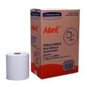 TOALLA EN ROLLO MARLI 92257 180 METROS SENCILLA 6 ROLLOS