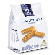 GALLETAS CAPUCHINO, 100 GRAMOS