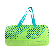 MALETA VERDE CON AZUL PERFECT CHOICE PC-083184 DE POLIESTER
