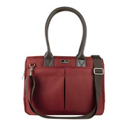 LM-BOLSO LAPTOP 14 CITY CHIC ROJO