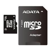 MEMORIA MICRO SD ADATA AUSDH16GCL4-RA1 DE 16 GB CLASE 4 CON ADAPTADOR