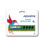 MEMORIA RAM TIPO GENERICA ADATA DE 4 GB EMBALAJE U-DIMM TECNOLOGIA DDR4 VELOCIDAD DE 2133 MHZ