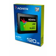 UNIDAD DE ESTADO SOLIDO ADATA ASU650SS CAPACIDAD DE 120 GB FACTOR DE FORMA 2.5