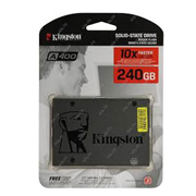 UNIDAD DE ESTADO SOLIDO KINGSTON A400 CAPACIDAD DE 240 GB FACTOR DE FORMA 2.5