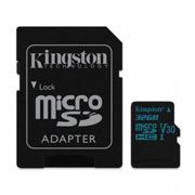 MEMORIA MICRO SD KINGSTON CANVAS SDCG2/32GB DE 32 GB CLASE 10 CON ADAPTADOR