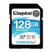 MEMORIA SD KINGSTON CANVAS SDG/128GB DE 128 GB CLASE 10