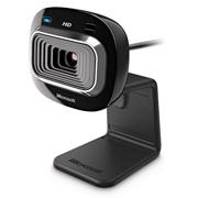 CAMARA WEB MICROSOFT HD 3000 1280 X 720 CONEXION USB COLOR NEGRA