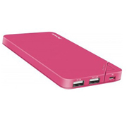 POWER BANK 6000 MAH 2 PUERTOS USB CORAL