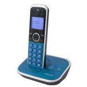 TELEFONO INALAMBRICO MOTOROLA GATE 4800 IDENTIFICADOR DE LLAMADAS AZUL 1 LINEA