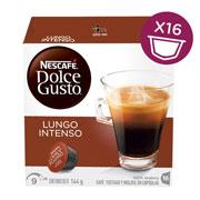 CAPSULAS DE CAFE LUNGO INTENSO DOLCE GUSTO CON 16 CAPSULAS