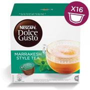 CAPSULAS DE CAFE MARRAKESH STYLE TEA DOLCE GUSTO CON 16 CAPSULAS