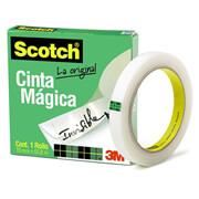 CINTA ADHESIVA MAGICA SCOTCH 810 DE 24 MM X 65 M 1 PZA