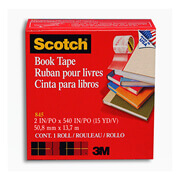 CINTA ADHESIVA PARA LIBROS SCOTCH BOOKTAPE 50MM X 13M 1 PZA