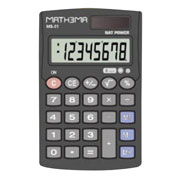 Lm-calculadora básica 8 digitos