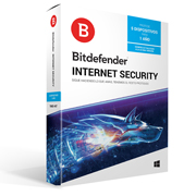 ANTIVIRUS BITDEFENDER INTERNET SECURITY CON 5 LICENCIAS