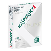 ANTIVIRUS KASPERSKY PURE TOTAL SECURITY CON 3 LICENCIAS PARA WINDOWS MEDIO DE INSTALACION DVD