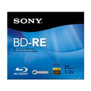 DISCO BLURAY BD-RE SONY BNE25RH CAPACIDAD 25GB