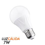 FOCO STEREN TIPO LED DE PLASTICO 7 WATTS LUZ CALIDA 1 PZA