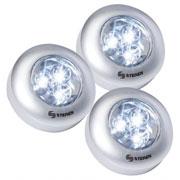 JUEGO DE 3 MINI LAMPARAS LED, STEREN