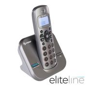 TELEFONO INALAMBRICO STEREN TEL-2414 COLOR PLATA