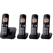 TELEFONO INALAMBRICO PANASONIC KX-TGC214MEB 4 PIEZA 1 LINEA
