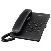 TELEFONO ALAMBRICO PANASONIC TS500MEB PARA 1 LINEA 1 PIEZA
