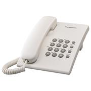TELEFONO ALAMBRICO PANASONIC TS500MEW PARA 1 LINEA 1 PIEZA
