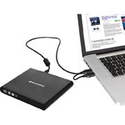 QUEMADOR DE DVD VERBATIM 98938 TIPO USB 2.0 COLOR NEGRO