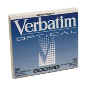 DISCO COMPACTO CD-RW VERBATIM 87895 CAPACIDAD 600 MB VELOCIDAD 48X PRESENTACION INDIVIDUAL