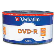 Disco DVD-R 16X 4.7GB Paquete con 50 pie