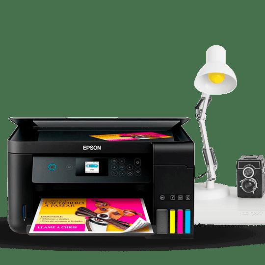 Impresoras Eco Tank multitareas para el hogar