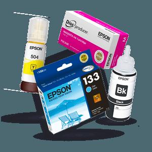Descubre la variedad de consumibles epson, tintas, tóners