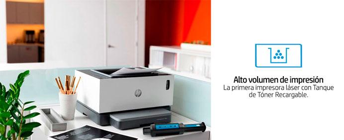 HP Neverstop Laser, 1000a,  alto volumen de impresion