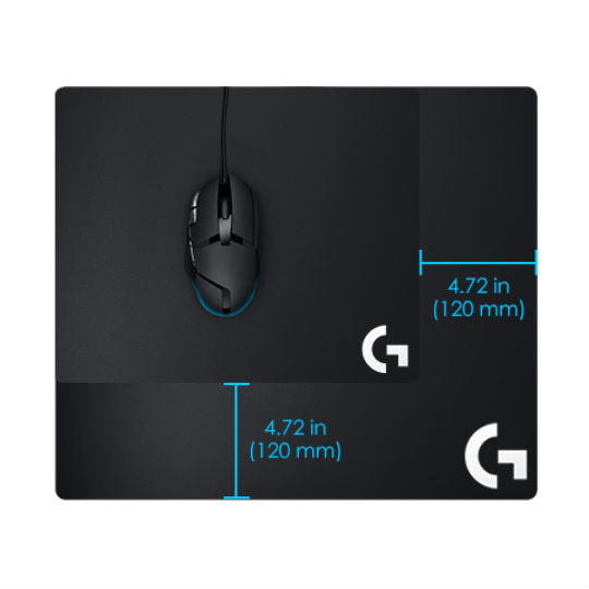 MOUSEPAD DE PRECISION LOGITECH G640 COLOR NEGRO