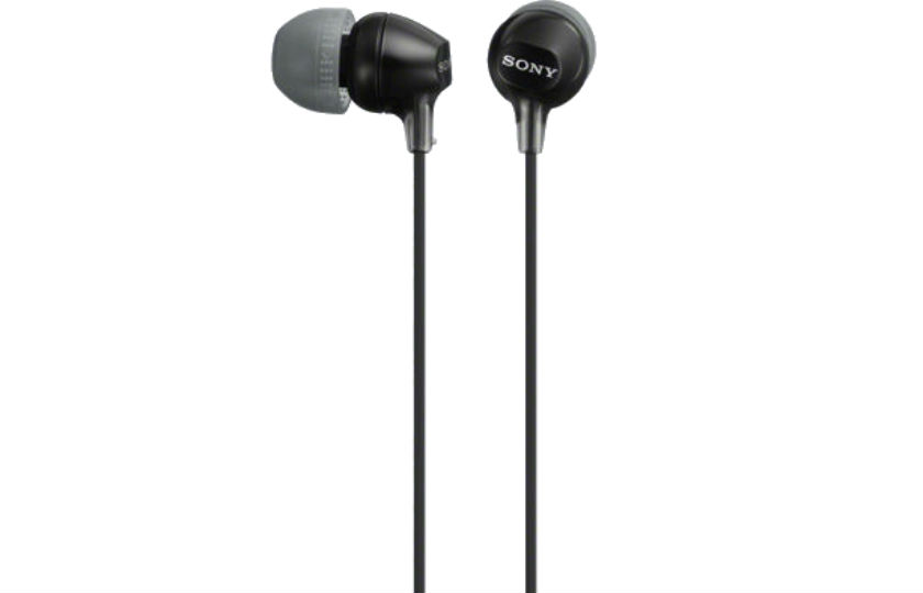AUDIFONOS SONY MDR-EX15LP/B TIPO IN-EAR ALAMBRICOS CONEXIÓN/MEDIDA 3.5 MM COLOR NEGRO