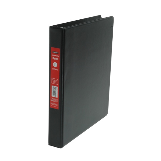 Carpeta P600 negra arillo pOp 1p 1 pz