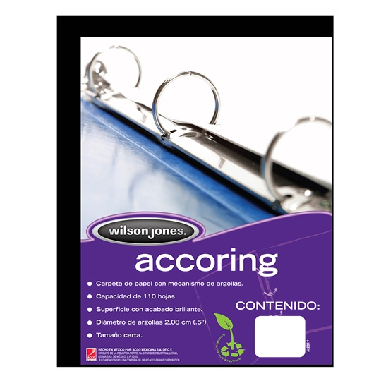 Carp accoring negro 1/2pc/4pzas