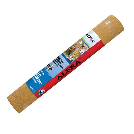 Compra rollo de corcho alfra color cafe 61 x 120 cm 1 - Corcho aislante precio ...