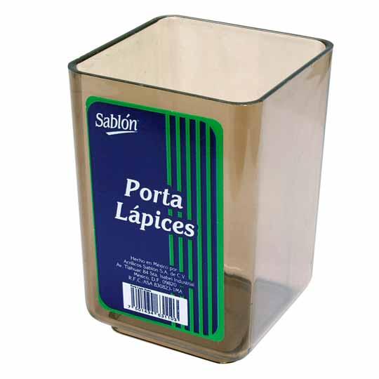 PORTALAPICES AZOR 3106HU COLOR HUMO DE ACRILICO 1 PIEZA