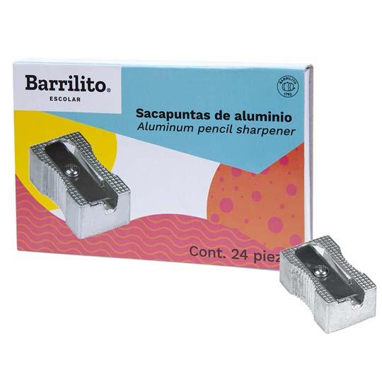 SACAPUNTAS MANUAL STP05 BARRILITO , DE METAL 1 PIEZA