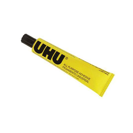 PEGAMENTO DE CONTACTO BIC UHU COLOR TRANSPARENTE 125 ML