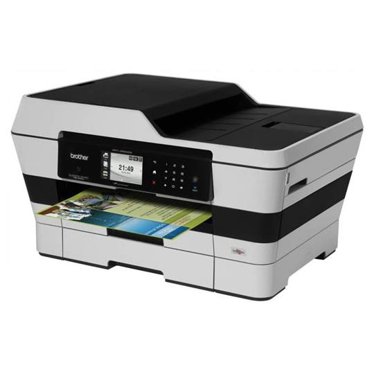 MULTIFUNCIONAL BROTHER BROTHER BUSINESS SMART MFC-J6720DW TECNOLOGIA DE IMPRESION INYECCION DE TINTA A COLOR
