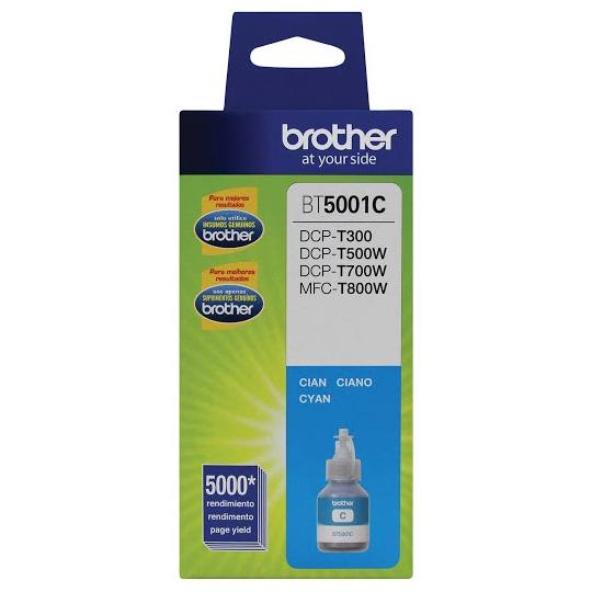 TINTA BROTHER BT5001C BT5001C COLOR CYAN