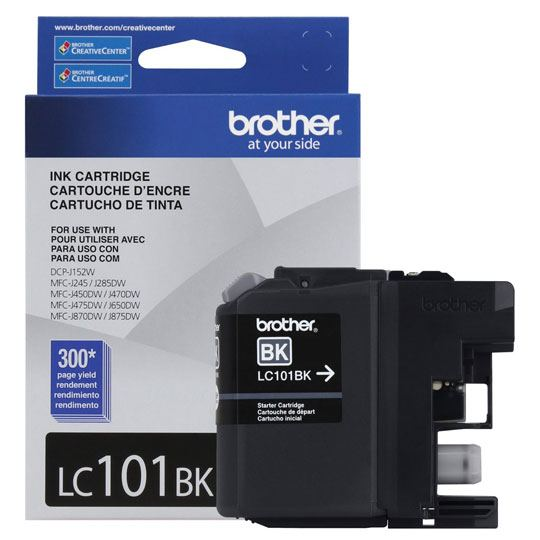 TINTA BROTHER LC101BK LC101BK COLOR NEGRO