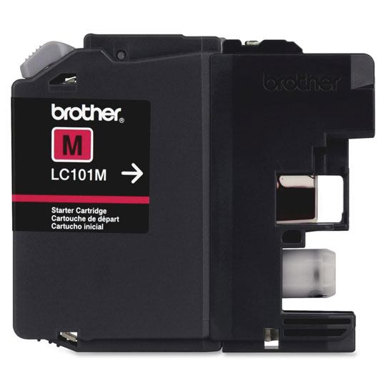TINTA BROTHER LC101M LC101M COLOR MAGENTA
