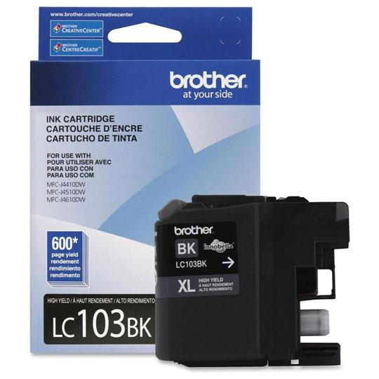 TINTA BROTHER LC103BK LC103BK COLOR NEGRO