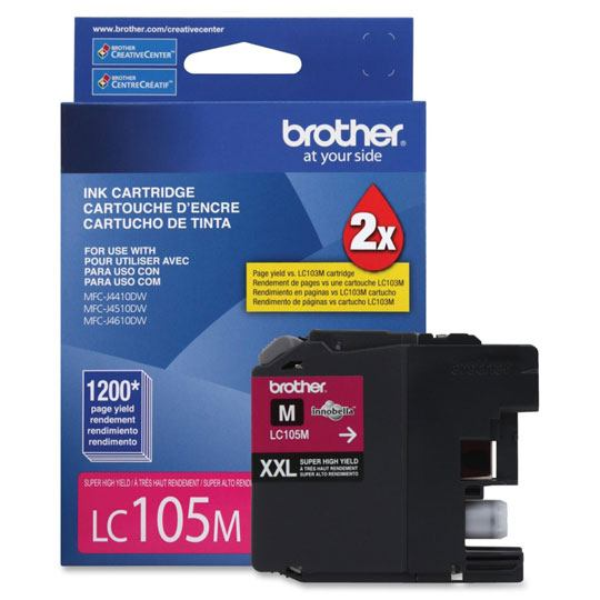 TINTA BROTHER LC105M LC105M COLOR MAGENTA