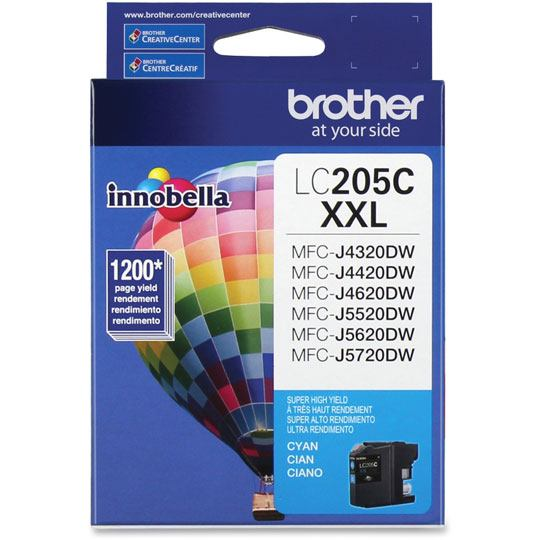 TINTA BROTHER LC205C LC205C COLOR CYAN